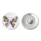 Pretty Butterfly Button