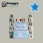 Braggz Blocks - (16 Block Set)